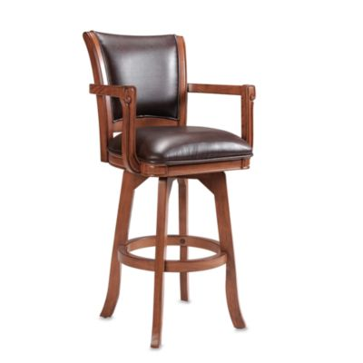 Rowan Bonded Leather 30-Inch Stool