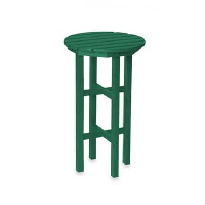 Beachfront Furniture Collection Adirondack Bar Table in Green