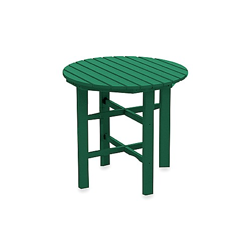 Beachfront Furniture Collection Coral Reef 31-Inch Dining Table in Green
