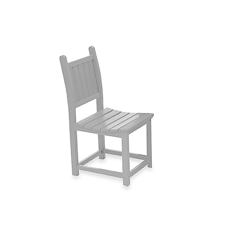 Beachfront Furniture Collection Coral Reef Dining Chair in White