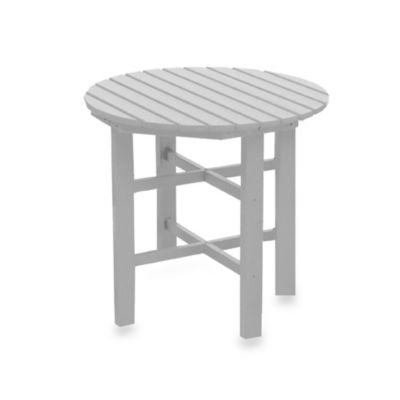 Beachfront Furniture Collection Coral Reef Dining Table in White