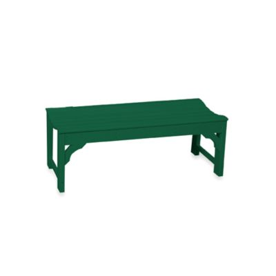 Beachfront Furniture Collection Classic Garden Bench in Green