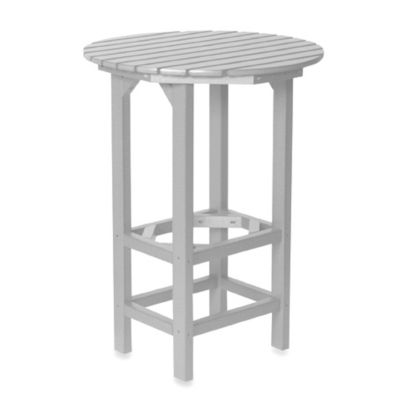Beachfront Furniture Collection Lighthouse Bar Table in White