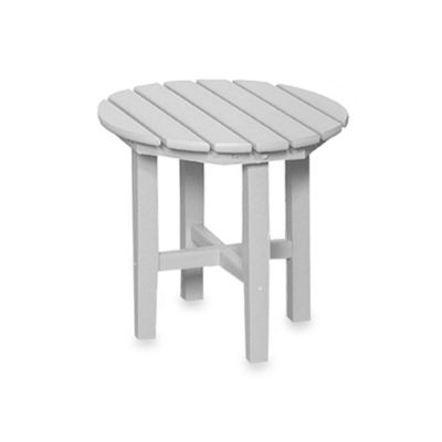Beachfront Furniture Collection Adirondack Table in White