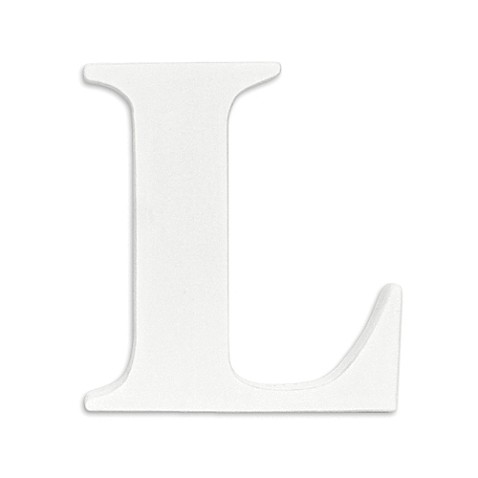 White Hanging Wall Letter