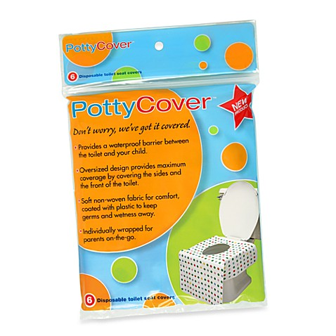 PottyCover 6-Pack Disposable Toilet Seat Covers