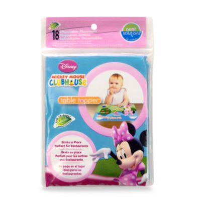 Neat Solutions® Disposable 18-Count Table Toppers in Minnie Mouse