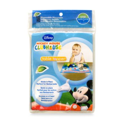 Neat Solutions® 18-Count Disposable Table Toppers in Mickey Mouse
