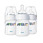 Avent Classic Natural Feeding 3-Pack 4-Ounce Bottle