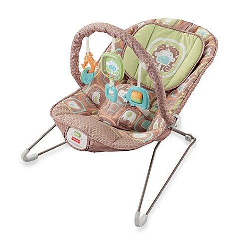 Fisher Price® Comfy Time Bouncer - Coco Sorbet