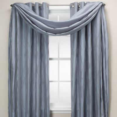 Venice Window Curtain Scarf Valance in Olive