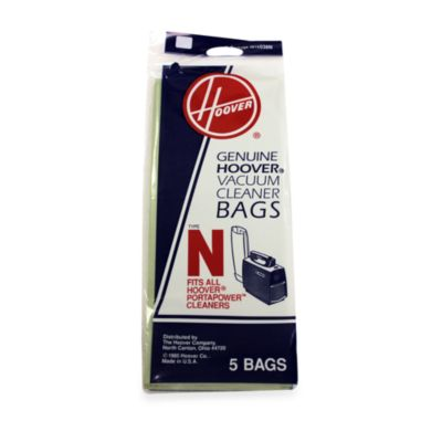 Hoover® 5-Pack Standard Type N Filtration Bags