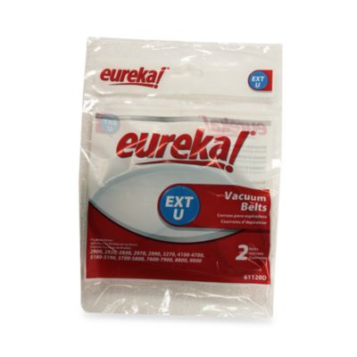 Eureka® Style EXT-U 2-Pack Replacement Belts