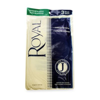 Royal Dirt Devil® Type J Vacuum Bags in 3 Pack