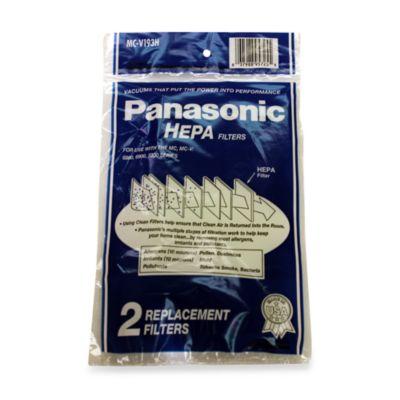 Panasonic® HEPA Filter - 2 Pack