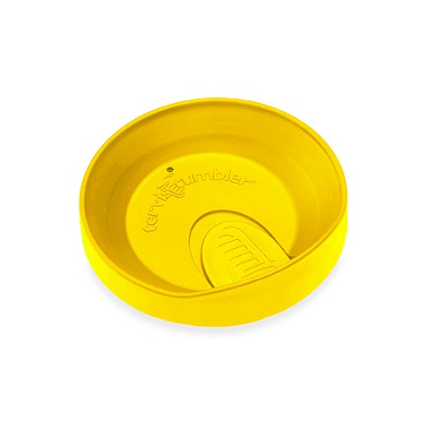Tervis® Tumbler Travel Lid 16-Ounce with Open/Close Slider in Yellow