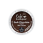 K-Cup® 16-Count Gourmet Single Cup Cafe Escapes® Dark Chocolate Hot Cocoa for Keurig®
