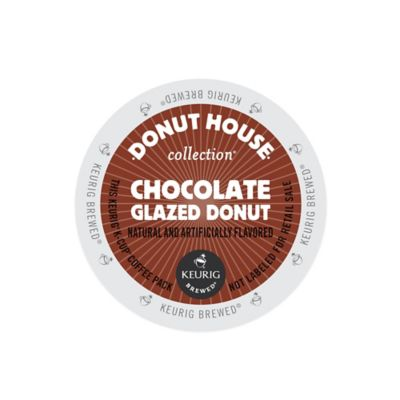 K-Cup® 18-Count Donut House® Collection Chocolate Glazed Donut Coffee for Keurig® Brewers