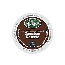 K-Cup® 18-Count Green Mountain Coffee® Sumatran Reserve Coffee for Keurig® Brewers