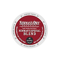 K-Cup® 18-Count Newman's Own® Organic Blend Medium Roast Extra Bold Coffee for Keurig®