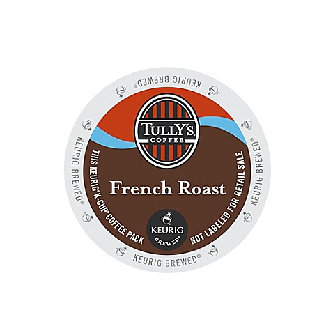 K-Cup® 18-Count Tully's® Extra Bold French Roast Coffee for Keurig® Brewers