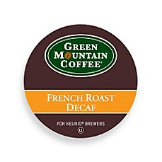 K-Cup® Green Mountain 18-Count French Roast Decaf Coffee for Keurig® Brewers