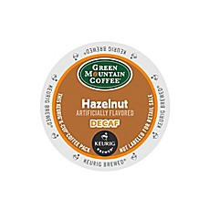 Keurig® K-Cup® Pack 18-Count Green Mountain Coffee® Hazelnut Decaf Coffee
