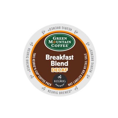 Keurig® K-Cup® Pack 18-Count Green Mountain Coffee® Breakfast Blend Decaf Coffee
