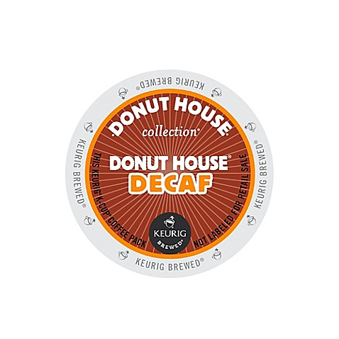K-Cup® 18-Count Donut House® Decaf Coffee for Keurig® Brewers
