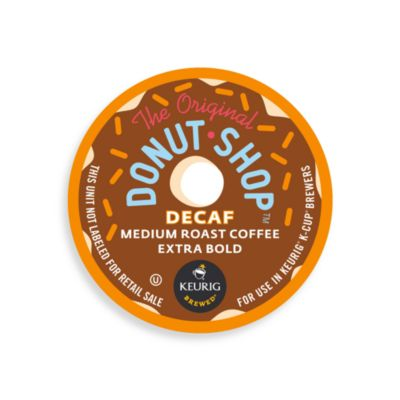 K-Cups® 18-Count Coffee People Donut Shop Decaf Coffee for Keurig® Brewers