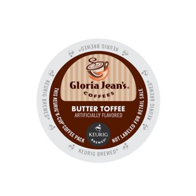 Keurig® K-Cup® Pack 18-Count Gloria Jean's® Butter Toffee Coffee