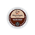 K-Cup® 18-Count Gloria Jean's Butter Toffee Coffee for Keurig® Brewers