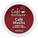 K-Cup® 16-Count Gourmet Single Cup Cafe Escapes® Cafe Mocha for Keurig® Brewers