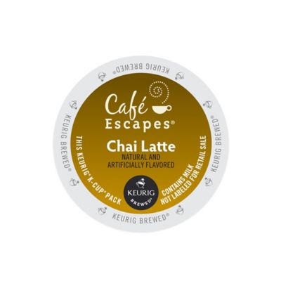 K-Cup® 16-Count Cafe Escapes® Chai Latte for Keurig® Brewers