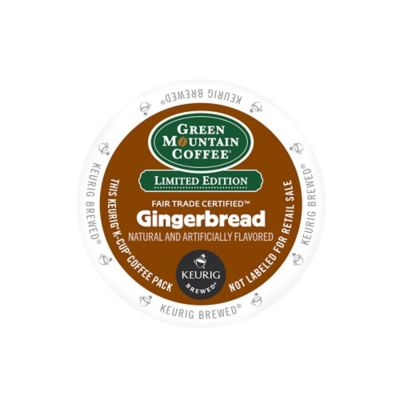 K-Cup® Limited Edition 18-Count Green Mountain Coffee® Gingerbread Coffee for Keurig® Brewers