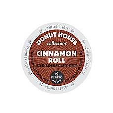 Keurig® K-Cup® Pack 18-Count Donut House Collection® Cinnamon Roll Light Roast Coffee