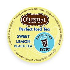 K-Cup® 16-Count Celestial Seasonings Perfect Iced Tea Sweet Lemon Black Tea for Keurig®