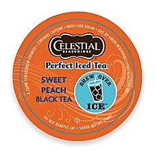 K-Cup® Celestial Seasonings 24-Count Perfect Peach Iced Tea for Keurig® Brewers