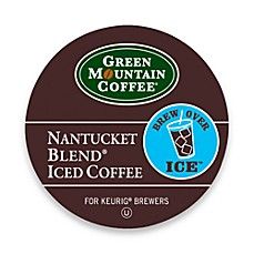 Green Mountain Donut House Regular Black Iced Coffee K-Cup for Keurig Brewers