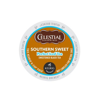 K-Cup® 16-Count Celestial Seasonings® Perfect Iced Tea Southern Sweet Black Tea for Keurig