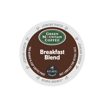 K-Cup® 18-Count Green Mountain Coffee® Breakfast Blend Coffee for Keurig® Brewers