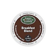 Keurig® K-Cup® Pack 18-Count Green Mountain Coffee® Breakfast Blend Coffee