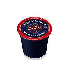 Timothy's Colombian La Vereda Coffee K-Cup for Keurig Brewers