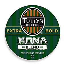 K-Cup® Tully's® 18-Count Kona Blend Coffee for Keurig® Brewers