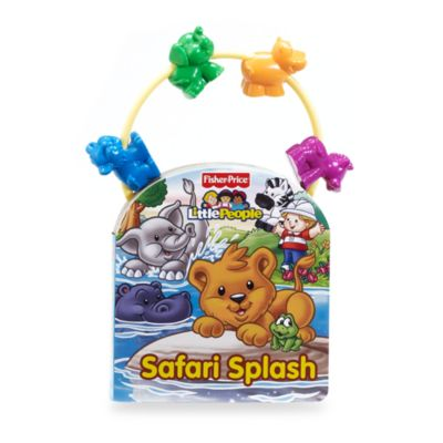 Little People Safari Splash Bead Book