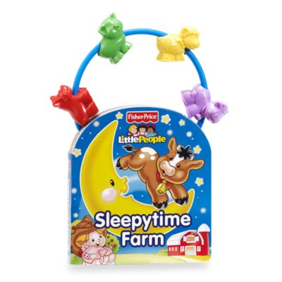 Little People Sleepytime Farm Bead Book