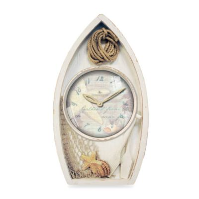 Sea Boat Wall Clock