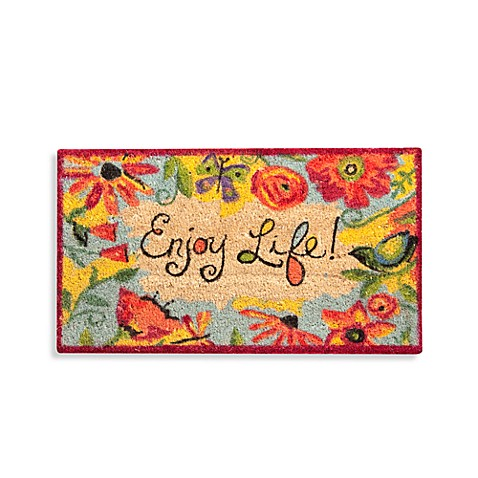 Enjoy Life Door Mat