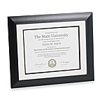 Artcare Tucson Matte Black Document Frame