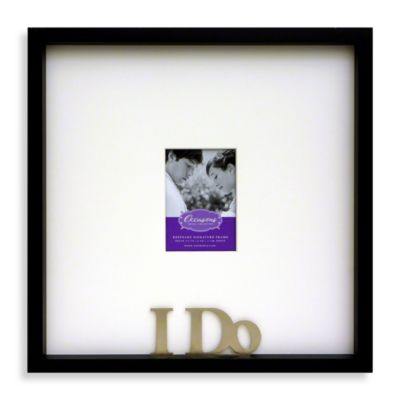 Occasions I Do Signature Frame